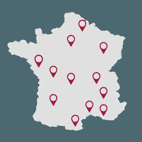 Support tactique diffusé partout en France pour le Groupe Com'Unique