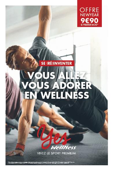 Visuel de Wellness pour son offre du Nouvel an
