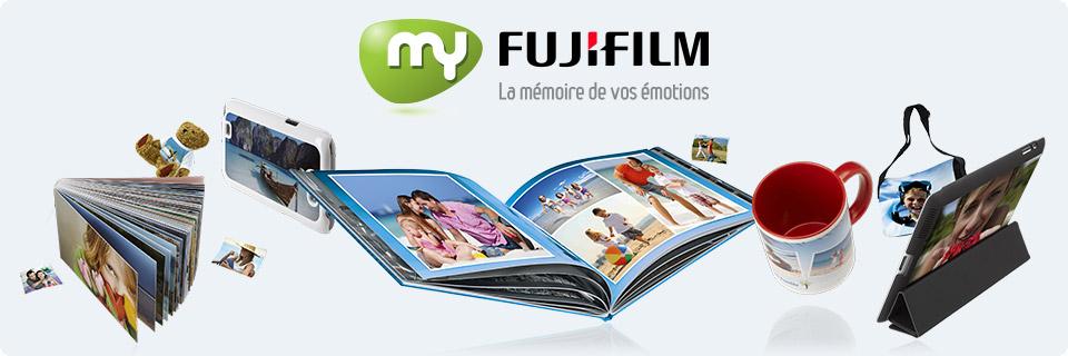 My FujiFilm fait une campagne de communication pour Noel - Promouvoir la marque - Groupe Com'Unique