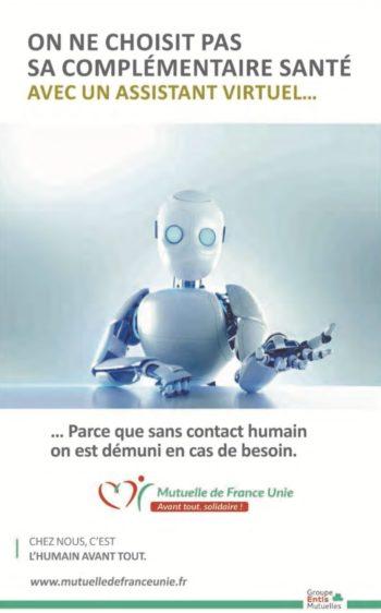 Visuel pour la Mutuelle France Unie -Groupe Com'Unique