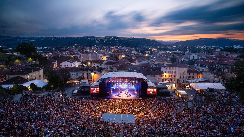 LE Festival Jazz à Vienne fait sa promotion