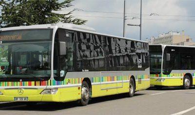 La STAS fait la promotion de ses nouvelles lignes de bus en set de table et sac à pain publicitaires