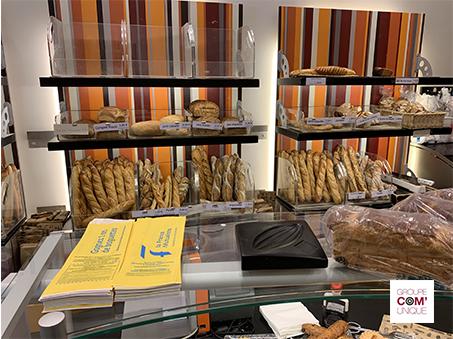 Sac à pain publicitaire pour la France Mutualiste - Groupe Com'Unique