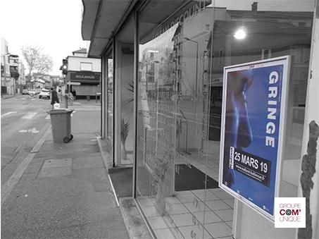 Campagne de communication pour le concert de Gringe au Radiant-Bellevue - Groupe Com'Unique