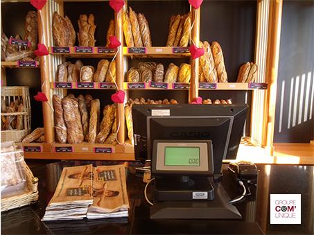 Campagne de sac à pain publicitaire pour Planta Fin - Groupe Com'Unique