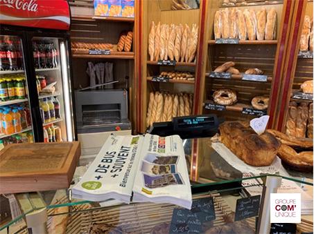 Sac à pain publicitaire Groupe Com'Unique