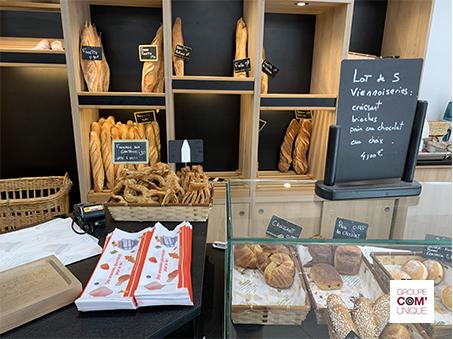 Sac à pain publicitaire pour l'annonceur Haribo - Groupe Com'Unique