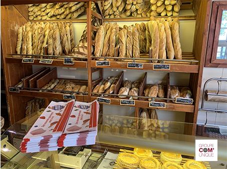 Sac à pain publicitaire pour le Musée du bonbon Haribo