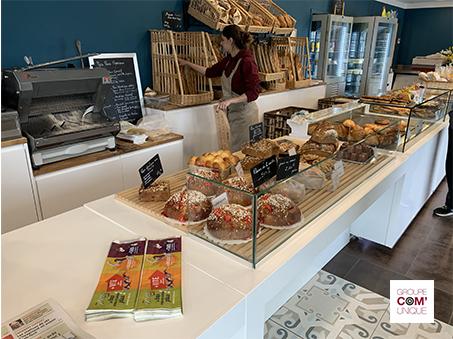 Sac à pain publicitaire pour la Sibra - diffusion en boulangeries