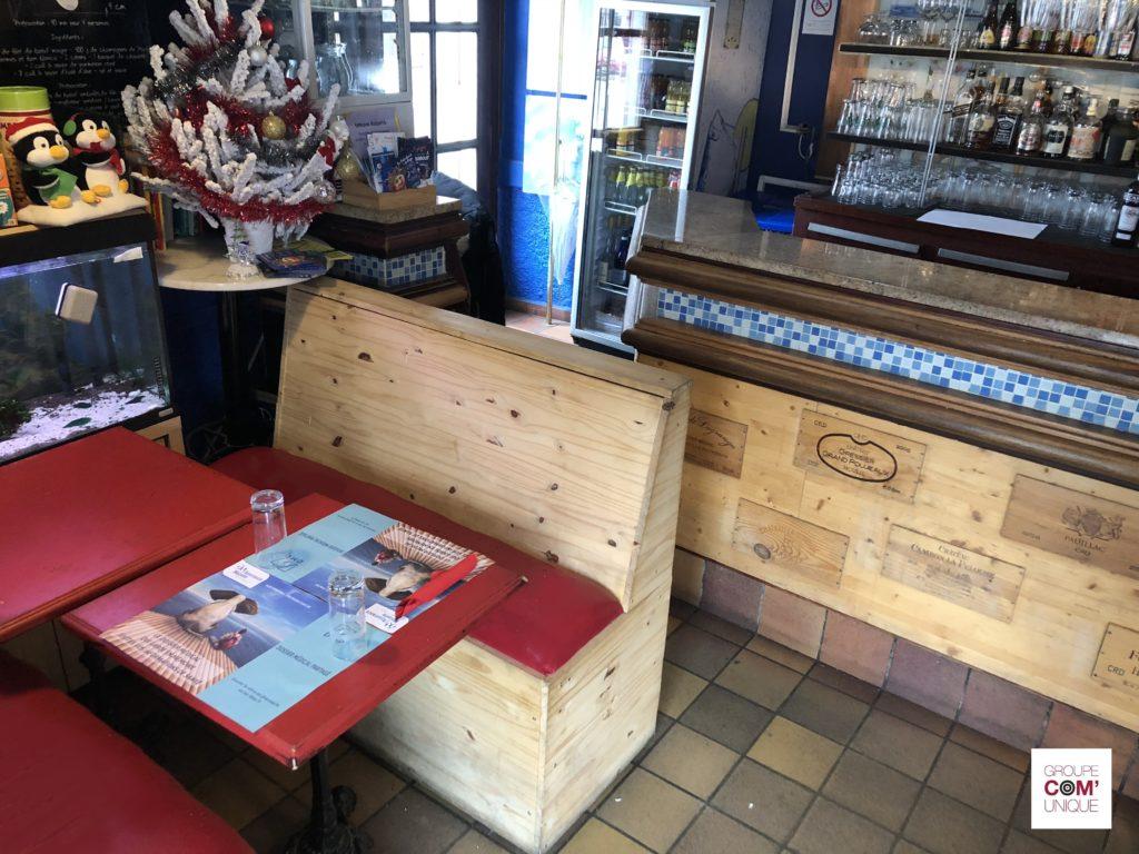 Campagne de communication sur set de table publicitaire pour la CPAM Haute-Savoie