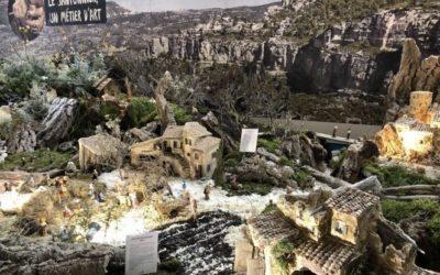 La région AURA fait la promotion de l'exposition des Santonniers avec le dispositif PromoPiéton