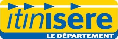 Itinisère fait la promotion de son site internet et de son application grâce au couplage de sac à pain publicitaire et de set de table publicitaire