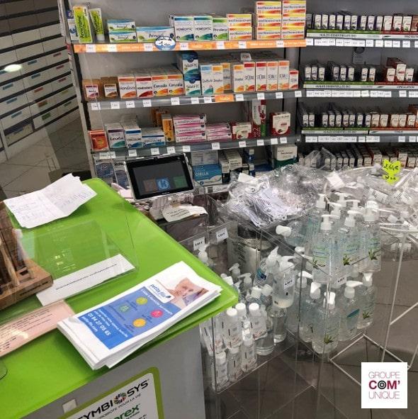 Le visuel de la CPAM pour les sacs à pharmacie publicitaires