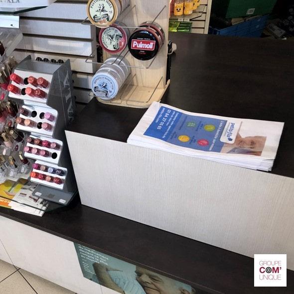 Utilisation des sacs à pharmacie publicitaire par une large public, des plus petits au plus grand - CPAM Haute-Savoie