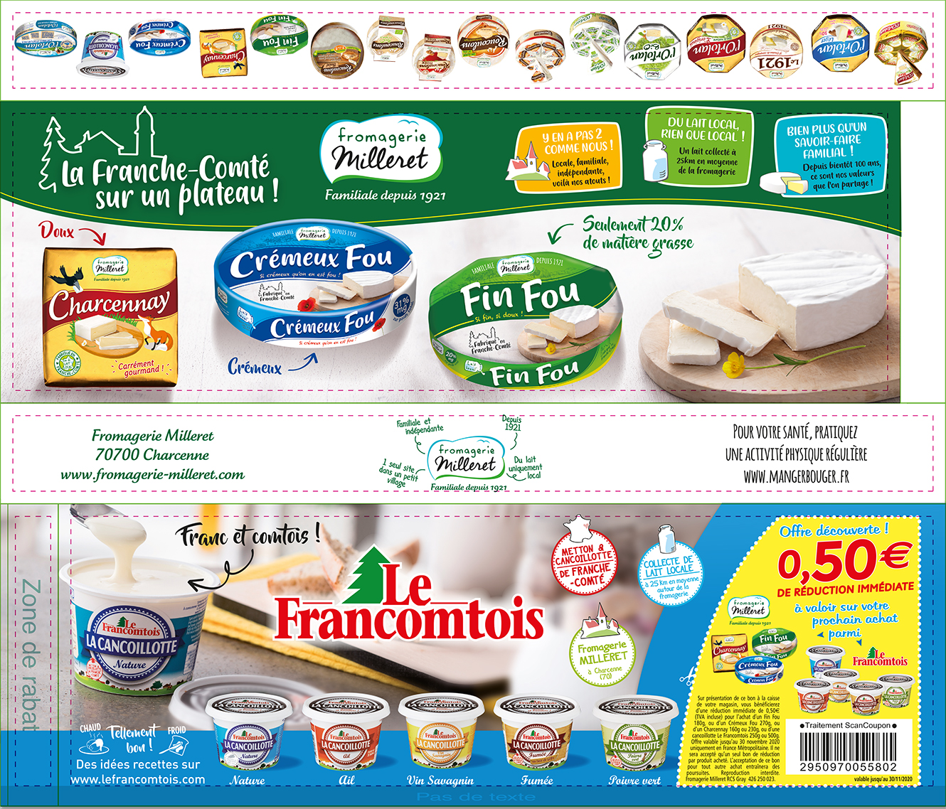 fromagerie milleret campagne sac a pain