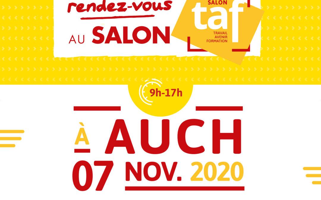 Promouvoir le salon TAF d'Auch par l'affichage de proximité