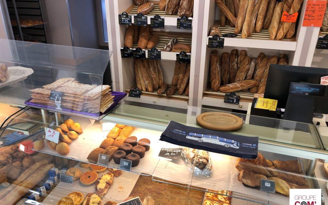 Philibert Transport booste la notoriété de ses cars grâce aux sacs à pain