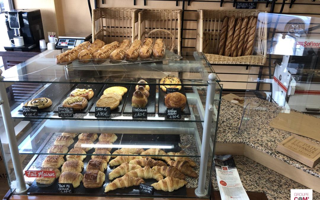 La Caisse d'Épargne promeut l'ouverture d'une nouvelle agence à Dijon grâce au sac à pain publicitaire