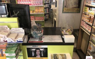 Domidep promeut ses services dans 5 villes différentes grâce au sac à pharmacie publicitaire